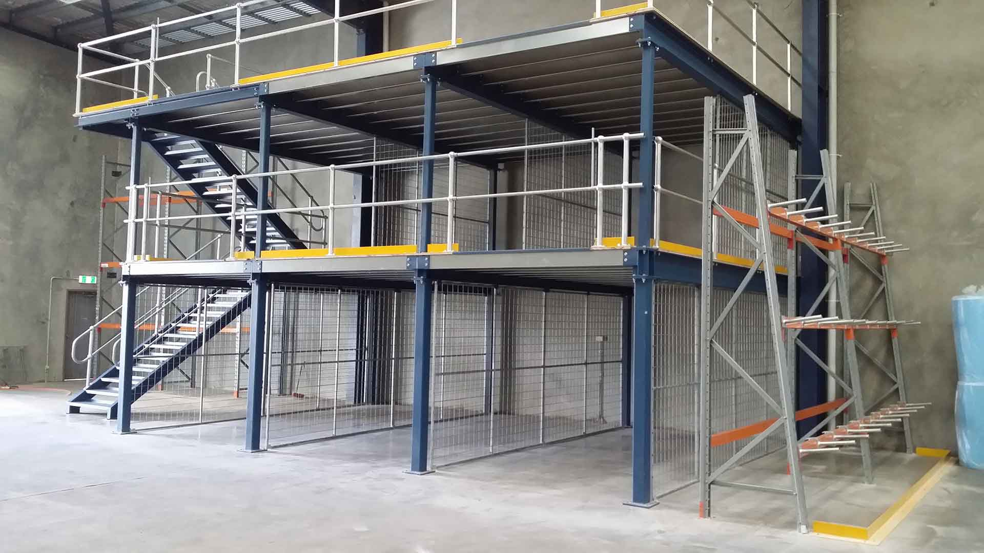 Warehouse Two Level Structural Mezzanine Floor