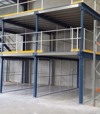 Two Teir Mezzanine Floor